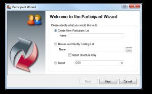 Qwizdom Tools - Participant List